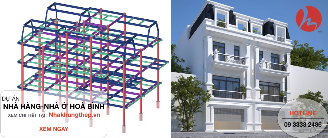 [ Nhà khung thép - Nhà kết cấu thép ] Ưu nhược điểm của nhà khung thép