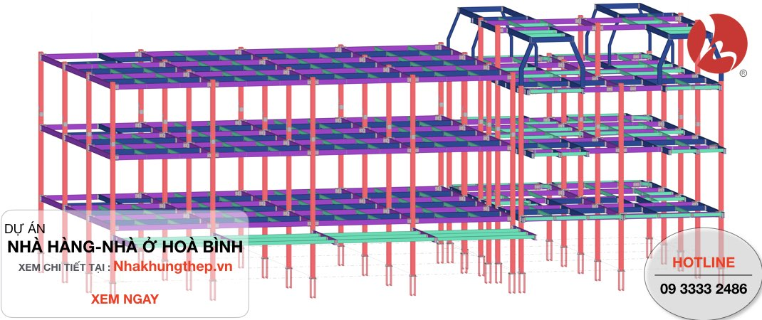 Khung nhà thép tiền chế so với nhà bê tông cốt thép có tốt hơn không?